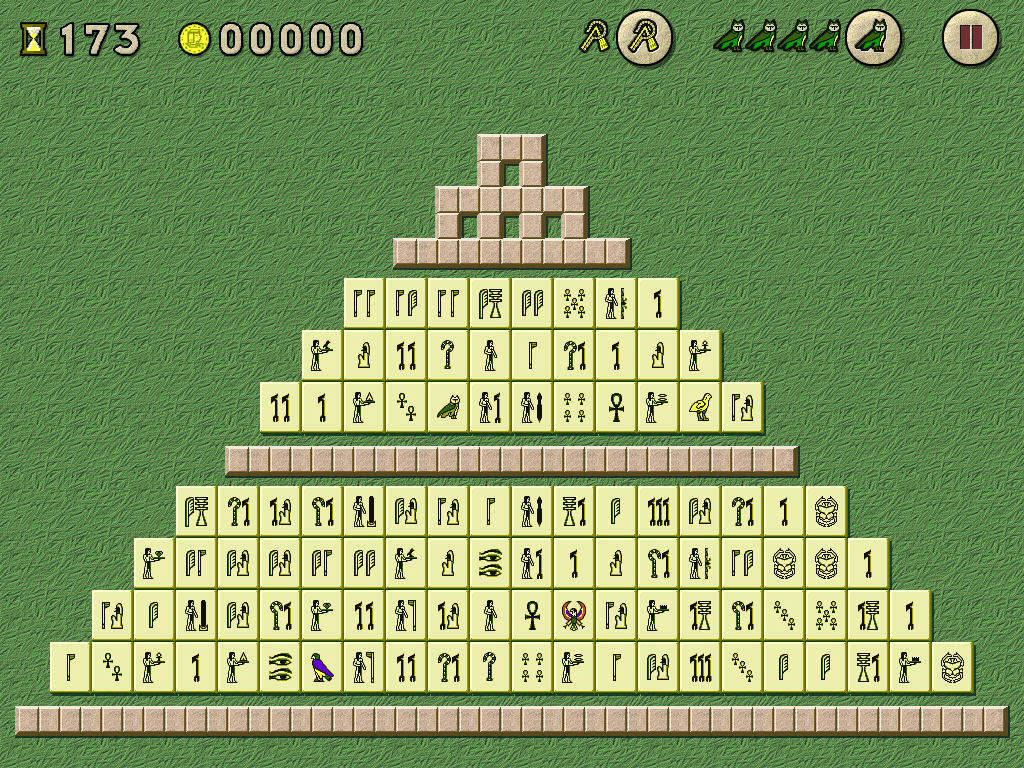 Free download of the mahjongg game the curse of ra